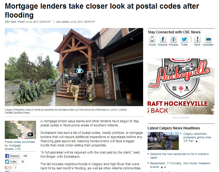 Mortgage-lenders-take-closer-look-at-postal-codes-after-flooding