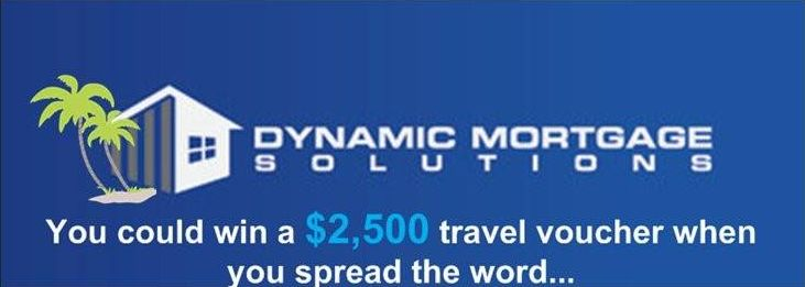 You could win a $2500 travel voucher when you spread the word